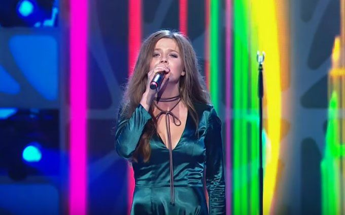 Українка Прудіус виконала авторську пісню на Новій хвилі: з'явилося відео