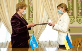 Зеленська підписала важливу угоду з ЮНІСЕФ - що відомо