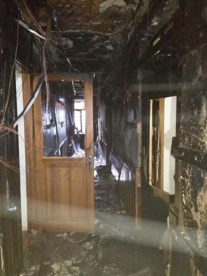 Пожежа в київському суді: з'явилися нові фото і подробиці (1)
