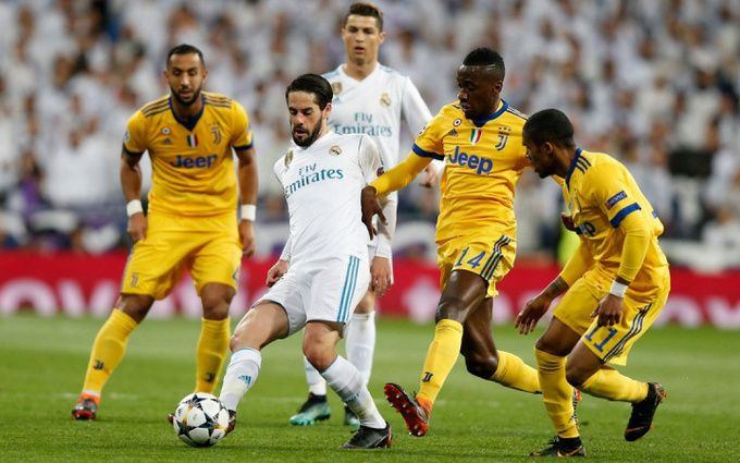 Матч Реал-Ювентус: результаты и зрелищное видео голов