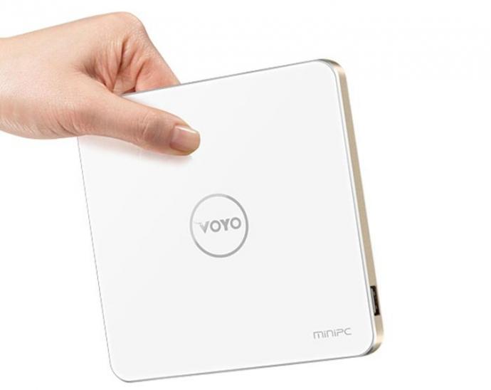 Компания Voyo представила неттоп V3 с процессором Intel Atom x7 и 4 Гбайт ОЗУ