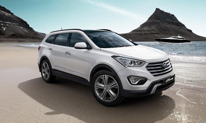 Флагманский Hyundai Grand Santa Fe получил новый силовой агрегат