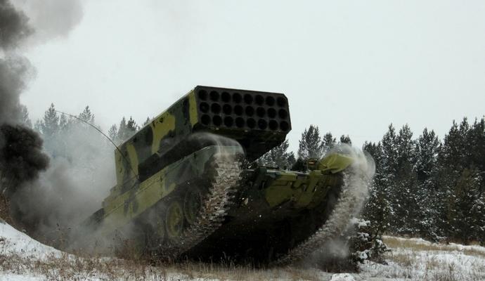 На Донбасі виявлено заборонену зброю бойовиків