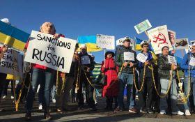 Путин, руки прочь от Украины: в Сан-Франциско провели мощную акцию за освобождение украинских моряков