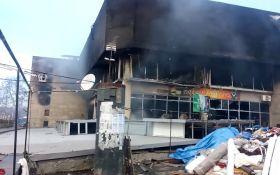 У Тбілісі другий раз за добу палає торговий центр: з'явилося відео