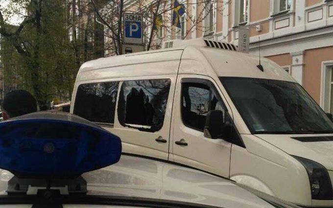 В центре Киева провели задержание со стрельбой - СМИ подозревают спецоперацию СБУ