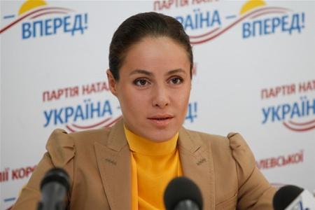 """Наталья Королевская - лидер партии """"Украина-Вперед!"""""""