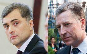 Сурков і Волкер обговорять миротворців ООН і заручників на Донбасі