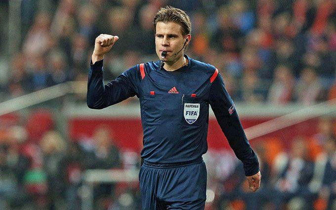 УЕФА назвала судью на финал Лиги чемпионов