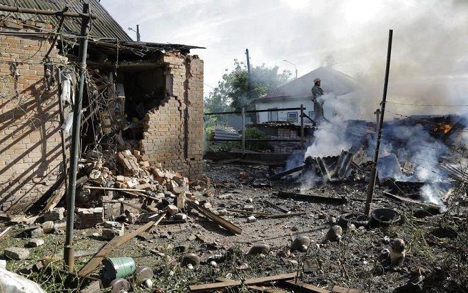 """У штабі АТО осоромилися з обстрілом"""" Запорізької області: опубліковано відео"""
