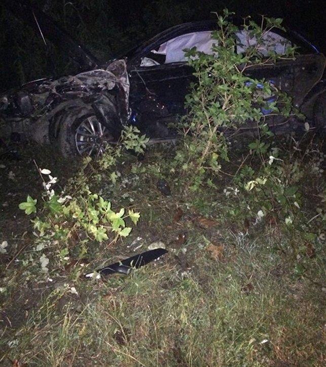 """""""Прем'єр"""" невизнаної Абхазії загинув в ДТП: з'явилися фото і відео з місця аварії (2)"""