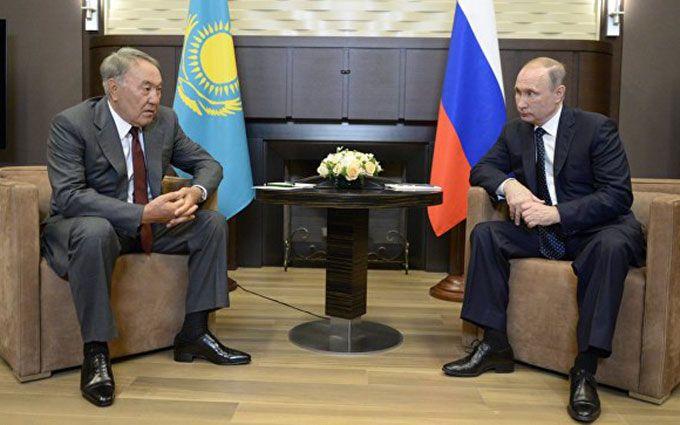 Назарбаєв у бесіді з Путіним зробив гучну заяву про Порошенка і Донбас