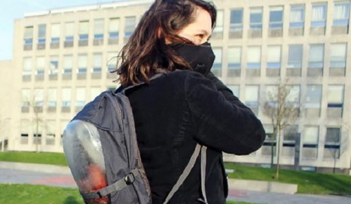 Студенты изобрели рюкзак с чистым воздухом