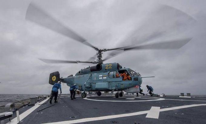 У Чорному морі пройшли спільні тренування морської авіації ВМС України і США: з'явилися фото