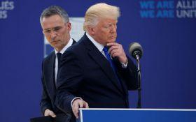 Трамп і генсек НАТО публічно посперечалися через Росію