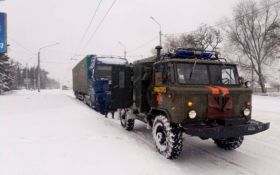 На Донбассе выпало рекордное количество снега