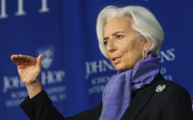 Глава МВФ рассказала, чем закончилась встреча с Порошенко