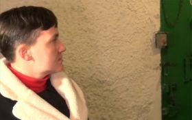 """Боевики """"пнули"""" Савченко по поводу ее заявлений на Донбассе: появилось видео"""