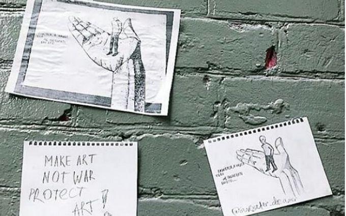 """Харьковская """"Стена Срача"""": скандал с закрашенным граффити набирает обороты"""
