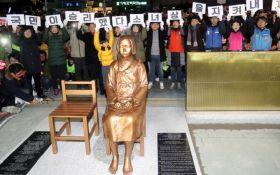 Між Японією і Південною Кореєю розгорається потужний скандал через пам'ятник: з'явилися фото