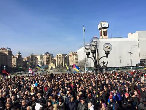 В Киеве повесили чучело Путина: опубликованы фото (1)