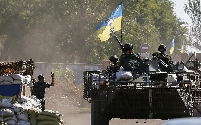 У штабі АТО назвали найгарячіші точки на Донбасі за добу