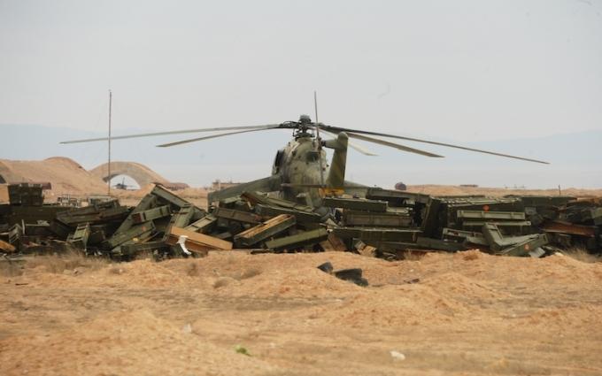 У Сирії збито вертоліт з російськими військовими, є загиблі