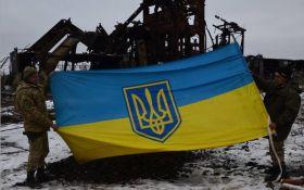 Бійці АТО врятували прапор України під шквальним вогнем бойовиків: з'явилися фото і відео