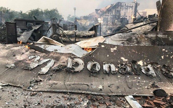 У США вирують лісові пожежі, понад 100 людей зникли: опубліковані відео