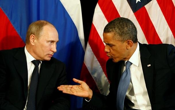 Обама напомнил Путину про обязательства на Донбассе
