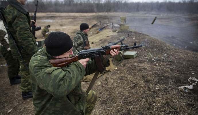 Около Песок боевики выпустили 62 мины по позициям ВСУ