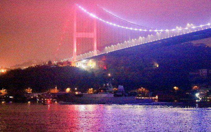 Военный корабль-разведчик Великобритании вошел в Черное море: опубликованы фото и видео