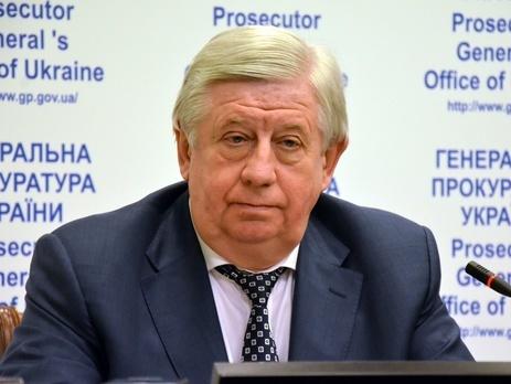 Шокін заявив, що немає підстав говорити про слід РФ у розстрілі Небесної сотні