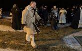 Путін у валянках і кожусі скупався в ополонці: опубліковано відео
