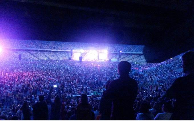 Грандіозний концерт «Океану Ельзи» пройшов в Києві: опубліковані фото і відео (3)