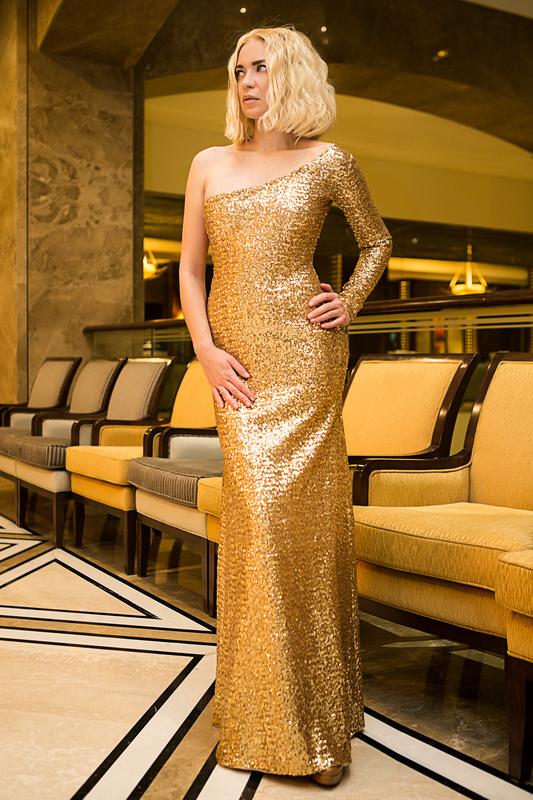 платье золотистого цвета во сне