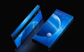 """Смартфон, """"обернутый"""" экраном: Xiaomi показала потрясающую новинку Mi Mix Alpha"""