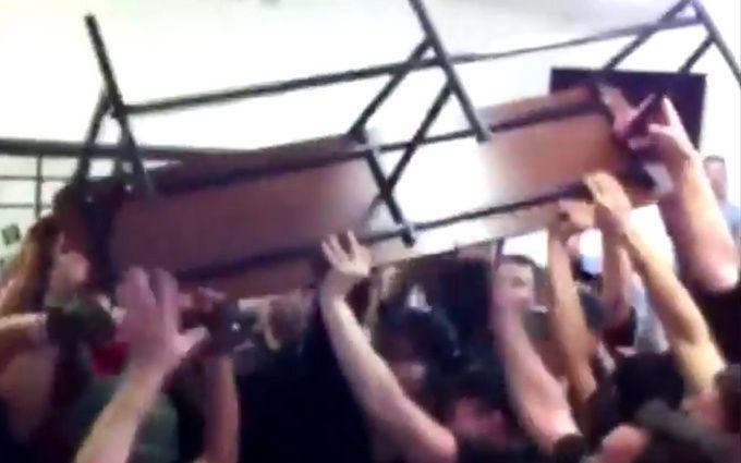Суд щодо бійні під Радою: з'явилося відео масштабної бійки