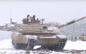 Танки и пехота США уже проводят учения в Польше: появились фото и видео