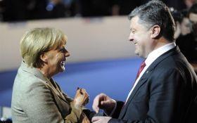 Порошенко розпочав переговори з Меркель та Макроном в Аахені: опубліковані несподівані фото