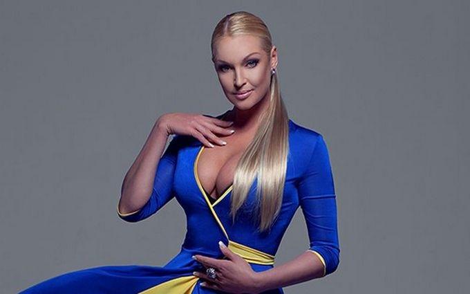 Волочкова хоче підкорити Євробачення в Україні фірмовим шпагатом