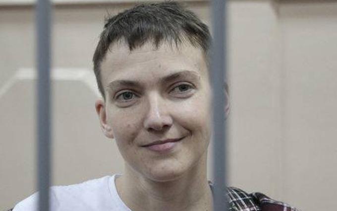 В России решили пустить к Савченко украинских врачей