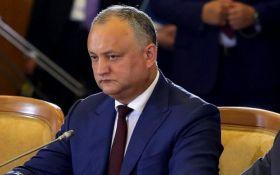 Додона відсторонили від посади президента Молдови - відома причина