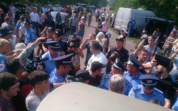 Учасники хресної ходи домовилися з поліцією
