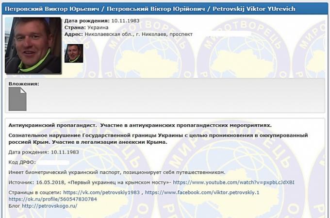 Украинского блогера наказали за поездку по Крымскому мосту: опубликовано видео (1)