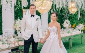 Голкіпер збірної Польщі одружився з українською красунею: опубліковані фото