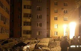 З'явилося відео моменту вибуху в житловому будинку в Росії