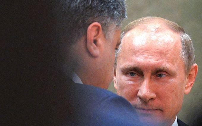 Порошенко обозвал Путина слабаком
