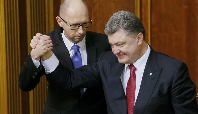 Провал отставки Кабмина: Яценюка и Порошенко обвинили в сговоре