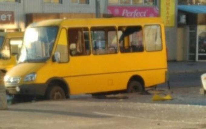 Взрыв маршрутки в Макеевке: появились новые фото